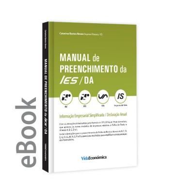 Ebook - Manual de Preenchimento da IES/DA Informação Empresarial Simplificada/Declaração Anual