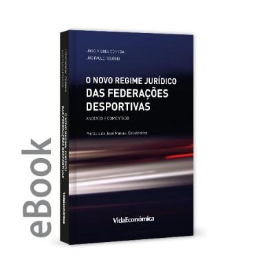 Ebook - Novo Regime Jurídico das Federações Desportivas