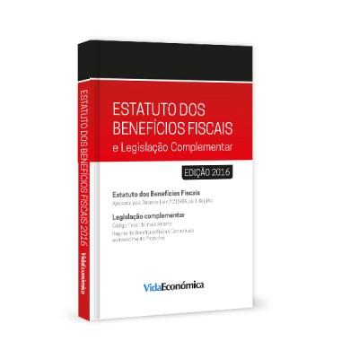 Estatuto dos Benefícios Fiscais e Legislação Complementar 2016