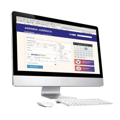 Agenda Jurídica Digital com  acesso WEB e APP
