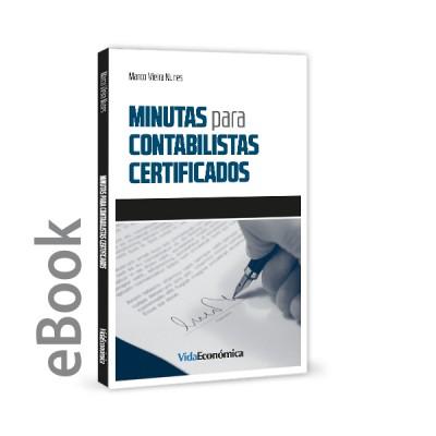 Ebook - Minutas para Contabilistas Certificados