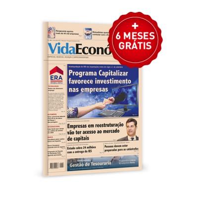 Jornal Vida Económica + 6 meses grátis