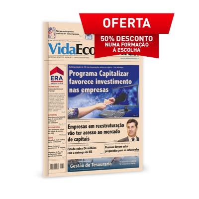 Jornal Vida Económica + 50% desconto em Formação
