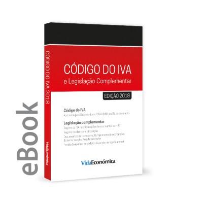 Ebook - Código do IVA 2018 e Legislação Complementar