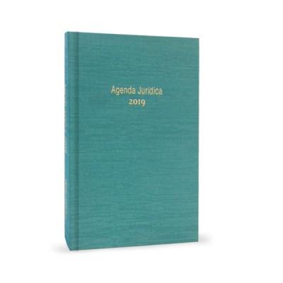 Agenda Jurídica 2019 Bolso Azul Turquesa