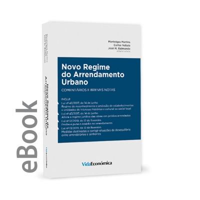 Ebook - Novo Regime do Arrendamento Urbano - Comentários e breves notas