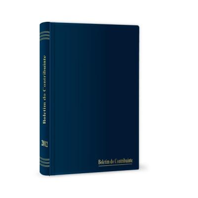 Arquivador Boletim do Contribuinte 2012